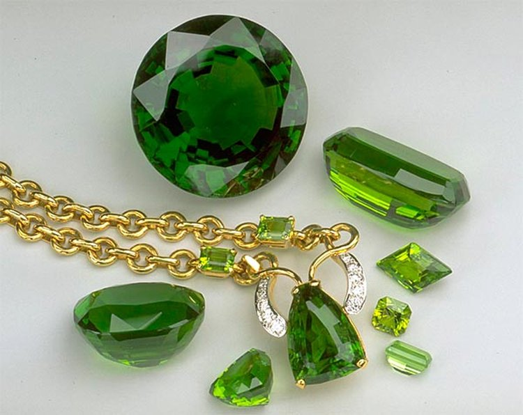 Mined in Ancient Times on the Island of Topazios, Peridot Was Originally Called 'Topazion'