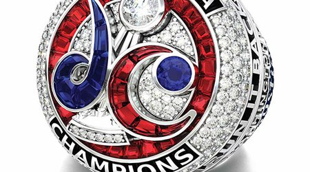 Custom-Cut Rubies, Sapphires Form the 'DC' Logo on Mystics' Championship Rings