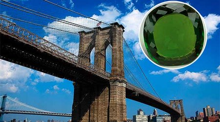 World's Largest Faceted Peridot and the Brooklyn Bridge Have This in Common