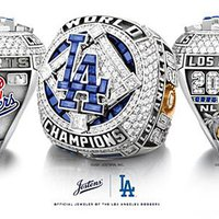 LA Dodgers' 2020 World Series Ring Radiates With 232 Diamonds and 53 Sapphires