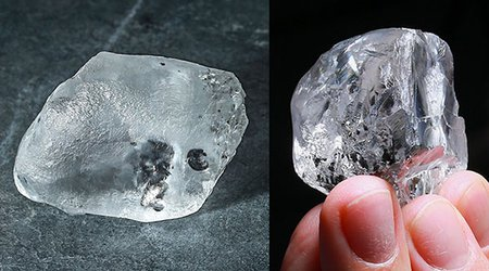Brilliant Start to 2021: Botswana's Karowe Mine Yields Pair of 300+ Carat Diamonds